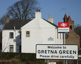 guest house accommodation at gretna green