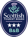Scottish Tourist Board 3 Star Bed and Breakfast
